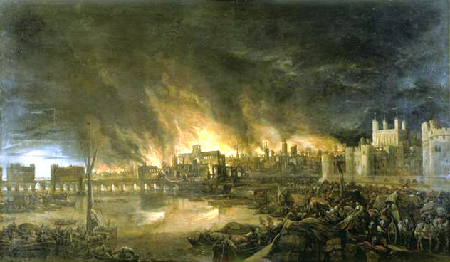 9- great fire of london