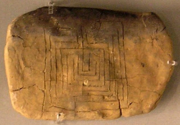 9-pylos-tablet-showing-labyrinth