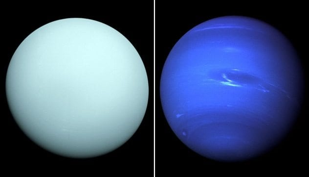Uranus and Neptune