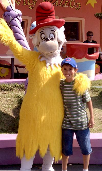 Ty at Universal Studios