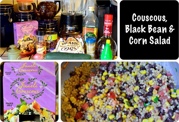 Couscous, Black Bean & Corn Salad