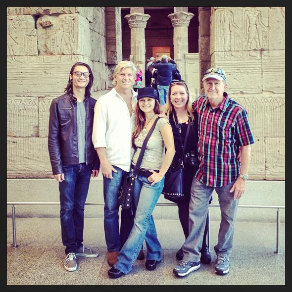 Chris, Sam, Nia, myself and Pops at the Met