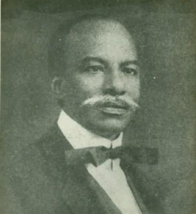 Herbert Macaulay in his signature style