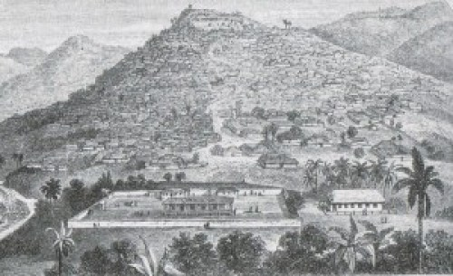 Ibadan with CMS compound in background 1854