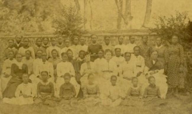 Gender education taught in Female Institute shown here, Lagos, 1886