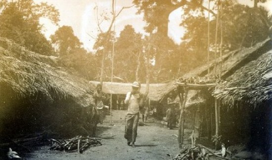 Aro during punitive expedition 1901