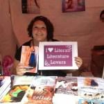 Author Shelly Crane Decatur, GA at the Decatur Book Festival 9/01/12