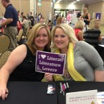 Two favorite authors in one pic! Colleen Hoover and Abbi Glines send us love! :)