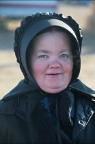 Portrait of an Amish Woman