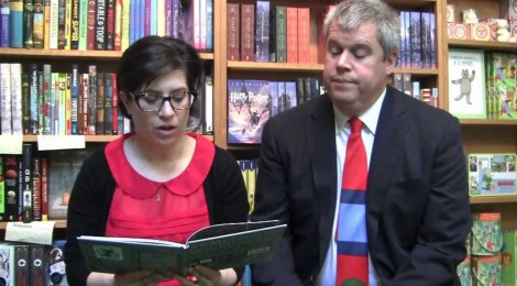 Daniel Handler and Lisa Brown on the 29 Myths on the Swinster Pharmacy Posted By Evan Karp on Thu, Mar 13, 2014 at 7:45 AM