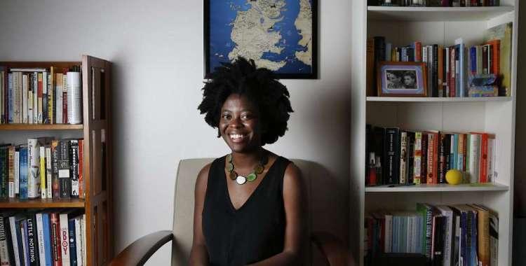 Yaa Gyasi by Leah Millis for The San Francisco Chronicle