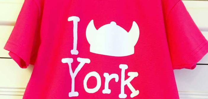 Win an 'I Love York' T-shirt for your child!