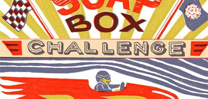 Bank holiday in York: Micklegate Run Soapbox Challenge