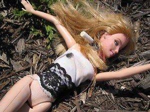 dead hooker Barbie