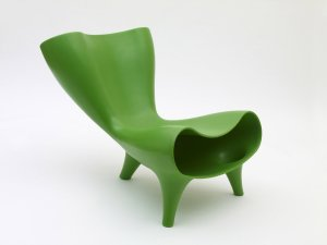orgone plastic chair, made in '98