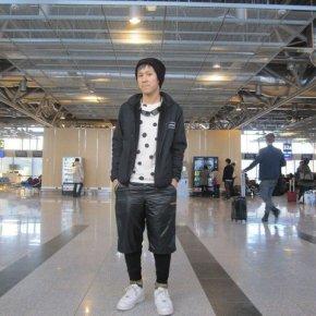 JAPANESE CUTIE IN HELSINKI AIRPORT