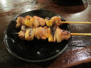 chicken yakitori