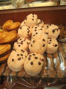 sakura muffins