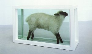 away from the flock damien hirst
