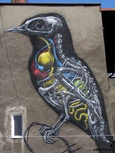 roa mural katowice street art festival2