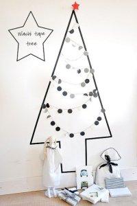 alternative christmas tree washi tape