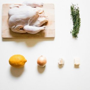 french cuisse roast chicken ingredients