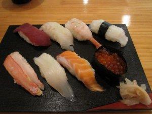 otaru sushi alley