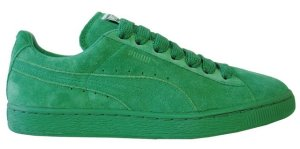 puma suede eco amazn green the sneaker trend