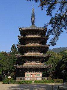 daigo ji pagoda
