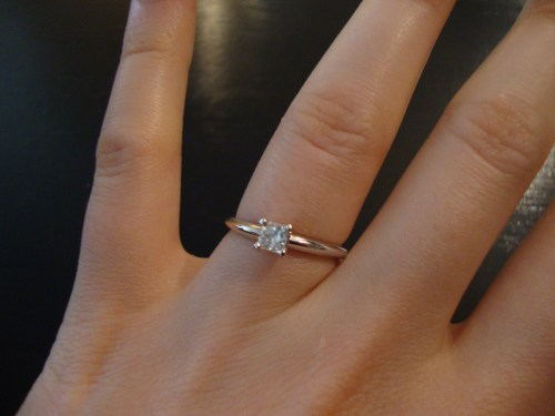 Medium Of Engagement Ring Finger
