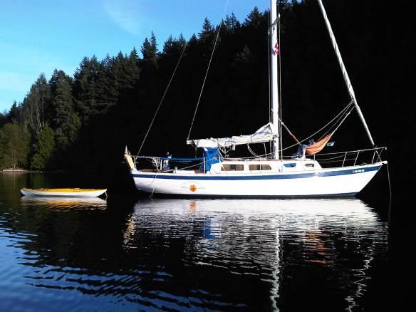 Moonrise at anchor