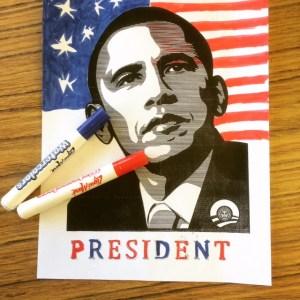 President Silkscreen Print