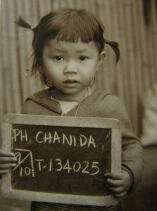 Chanida Potter, Napho Refugee Camp, 1986