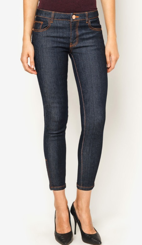 Catwalk 88, Supper Skinny Dark Rinse Crop Jeans, Zalora