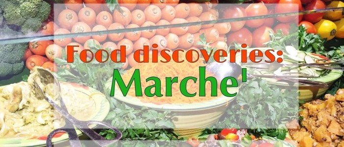 FOOD DISCOVERIES: MARCHE' RESTAURANT