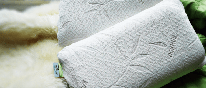SLEEPING WELL WITH HEVEYA BEDDING ORGANIC PILLOWS