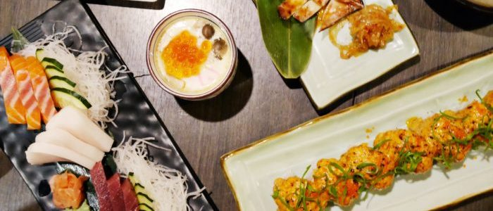 NEW DISHES AT BARASHI-TEI JAPANESE RESTAURANT