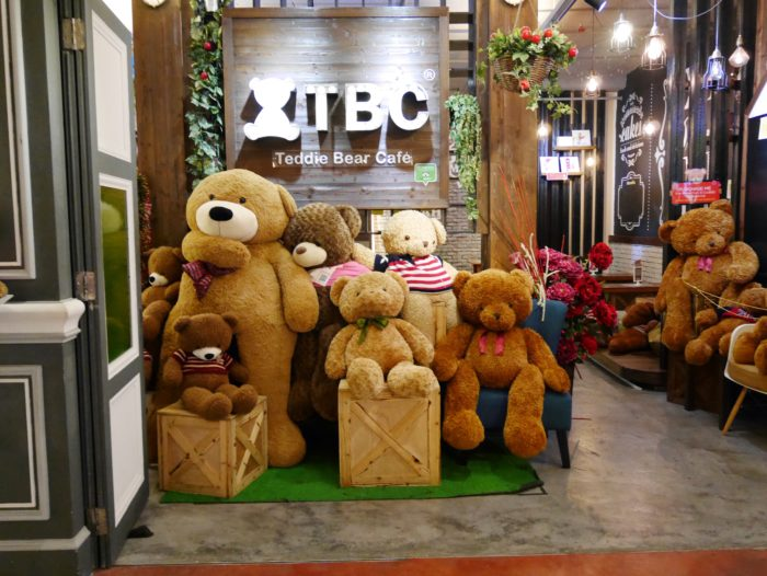The Teddy Bear Cafe