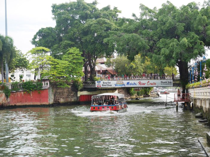 river cruise at melaka river