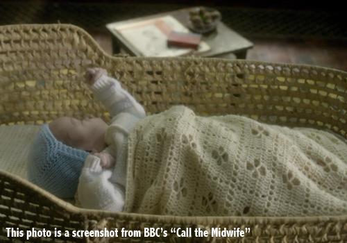 Knitting Pattern For Call The Midwife Blanket : The Midwife Blanket Crochet Pattern by Little Monkeys Crochet Little Monk...