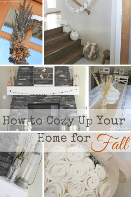How to Cozy Up Your Home for Fall | Making It In the Mountains