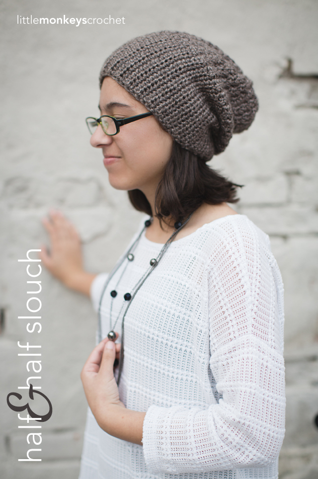 The Half-'n-Half Slouch Hat