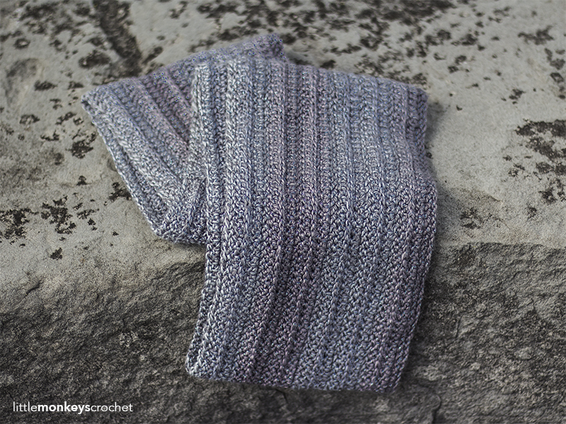 Cosmos Scarf Crochet Pattern   Free infinity scarf crochet pattern by Little Monkeys Crochet