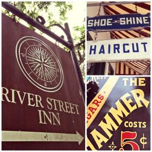 Signs of Savannah