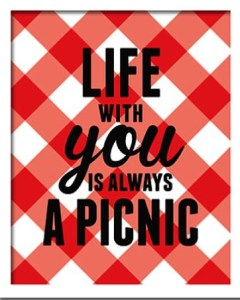 Picnic print photo via eatsaylove on etsy