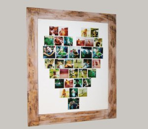 Personalized Instagram framed photo collage via Filtcreations/Etsy