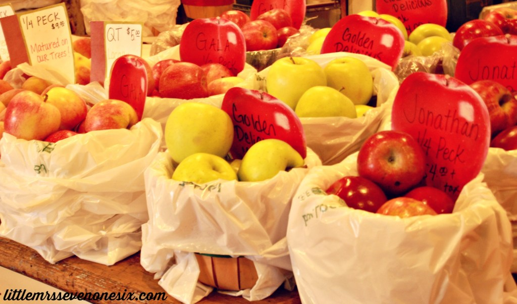 Red Barn apples