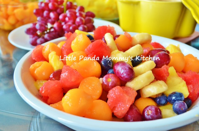 Simple Fruits Salad Recipe 簡易鮮果沙律食譜