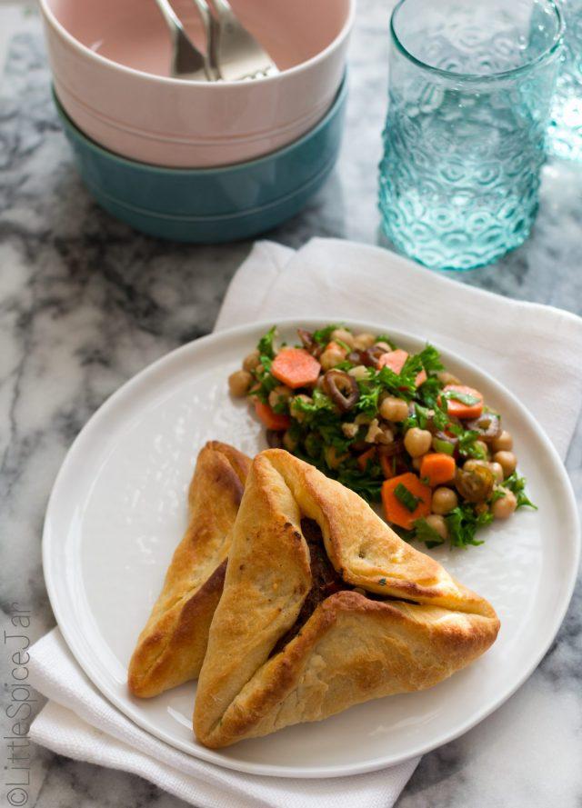 Lebanese Meat Pies (Sfeehas)