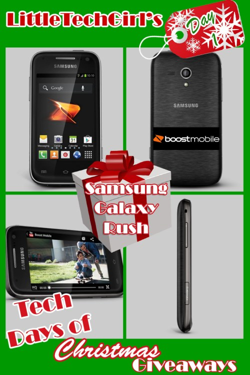 Samsung Galaxy Rush from Boost Mobile